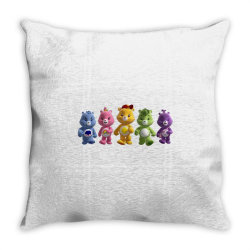 Rainbow bear care bear party Throw Pillow | Artistshot