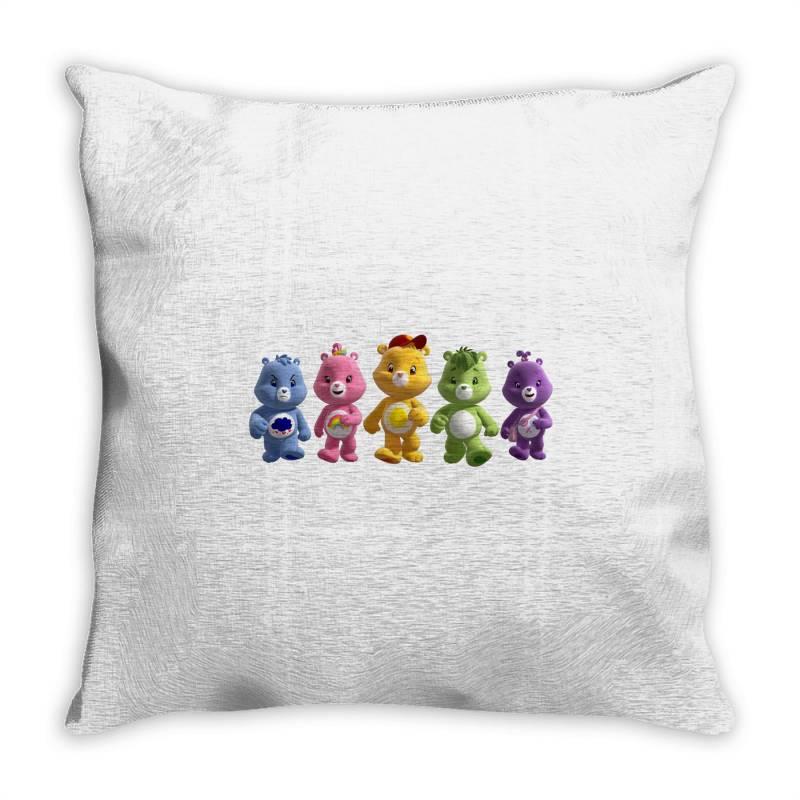 Rainbow Bear Care Bear Party Throw Pillow | Artistshot