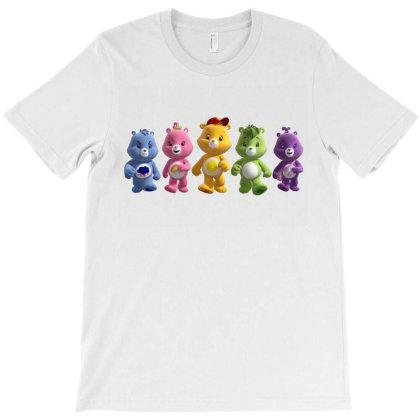 Rainbow Bear Care Bear Party T-shirt Designed By Şen