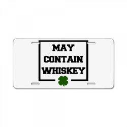 funny whiskey License Plate | Artistshot