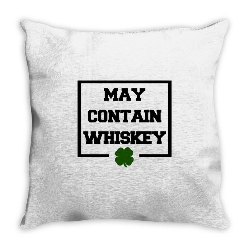Funny Whiskey Throw Pillow | Artistshot