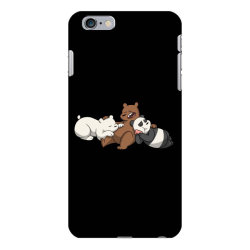 Grizzly bear panda brothers iPhone 6 Plus/6s Plus Case | Artistshot