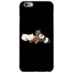Grizzly bear panda brothers iPhone 6/6s Case | Artistshot