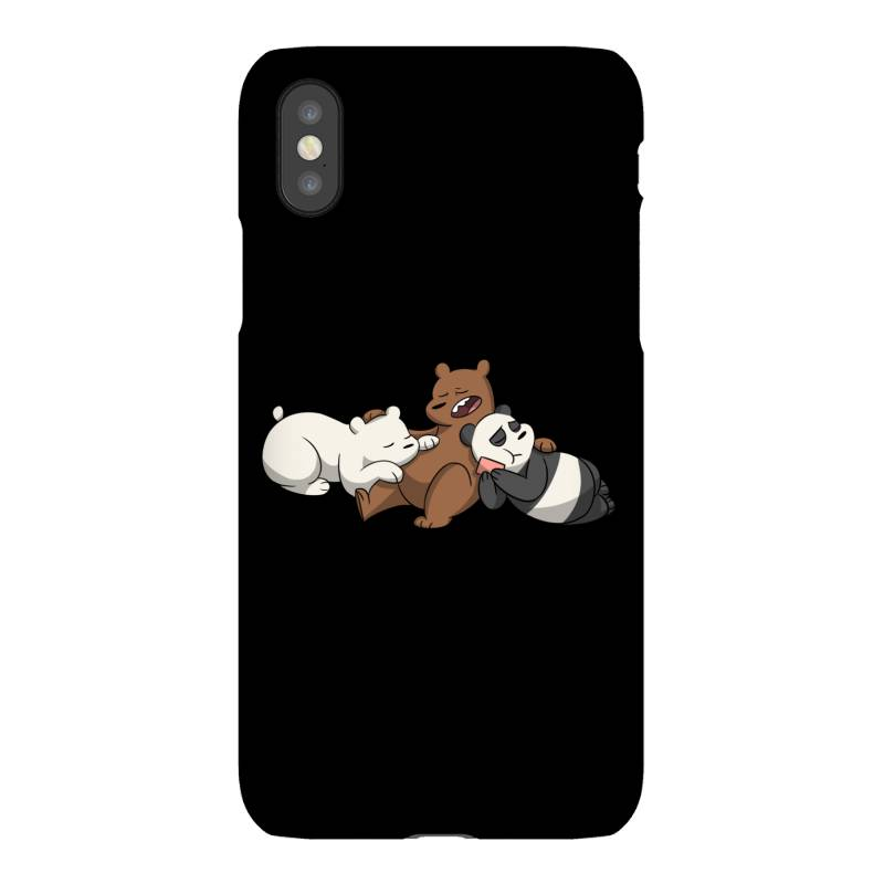 Grizzly Bear Panda Brothers Iphonex Case | Artistshot