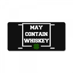 funny whiskey License Plate | Artistshot