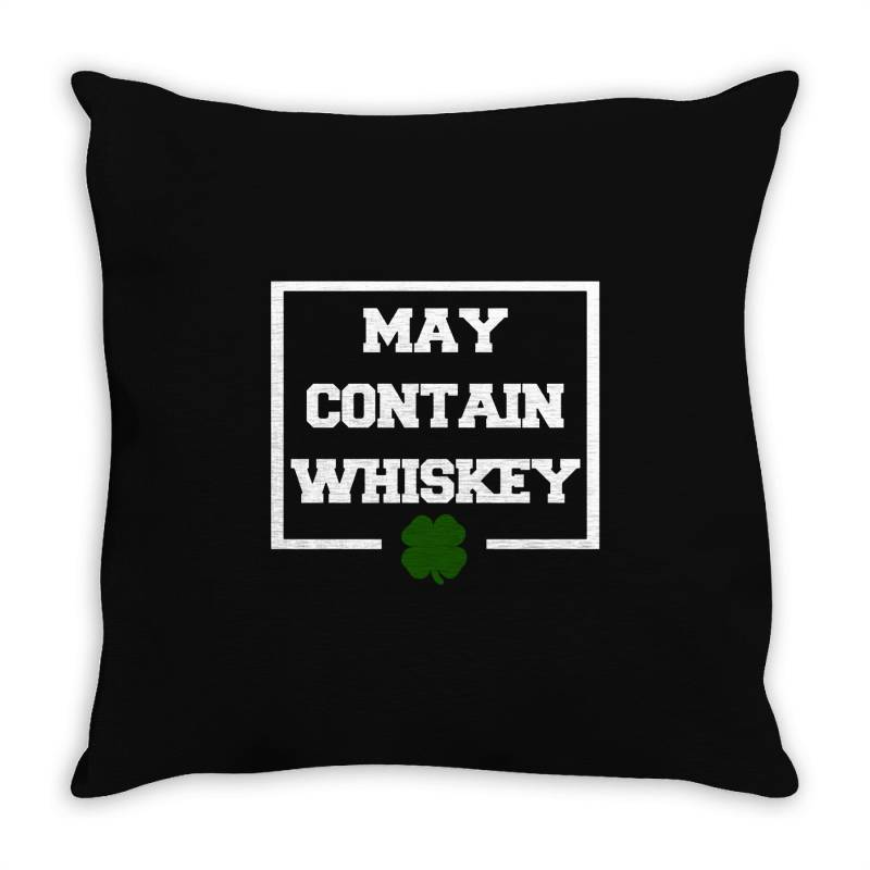 Funny Whiskey Throw Pillow | Artistshot
