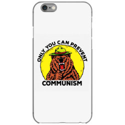only you can prevent communism camping bear iPhone 6/6s Case | Artistshot