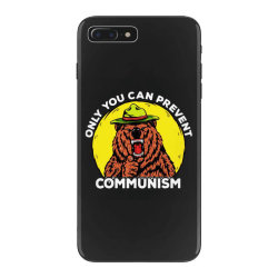 only you can prevent communism camping bear iPhone 7 Plus Case | Artistshot