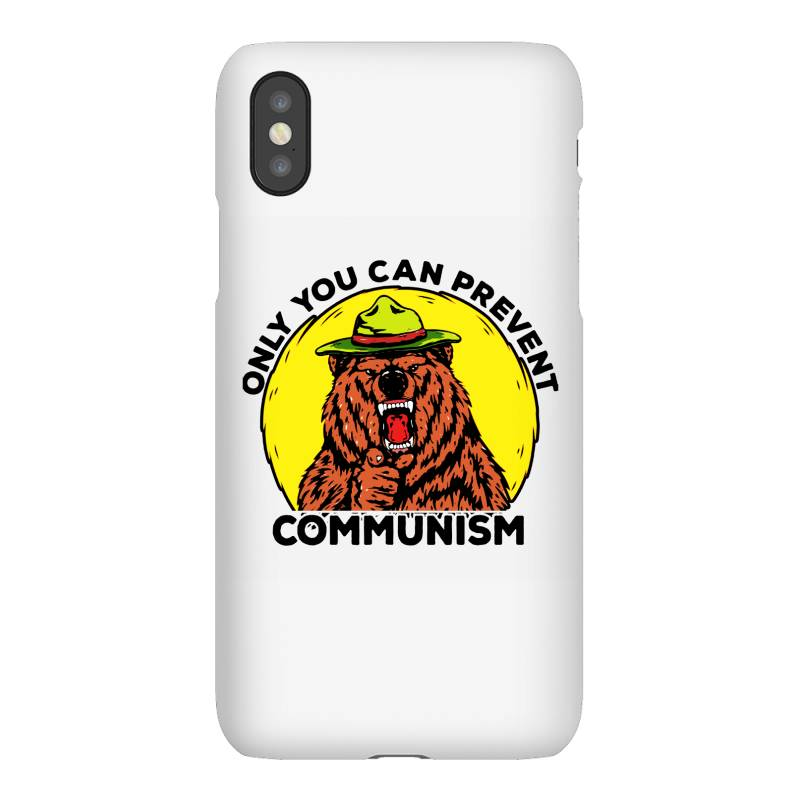 Only You Can Prevent Communism Camping Bear Iphonex Case | Artistshot