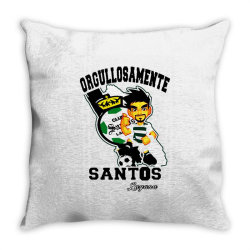 proudly soccer Throw Pillow | Artistshot