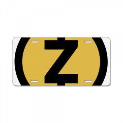 ZCASH License Plate | Artistshot