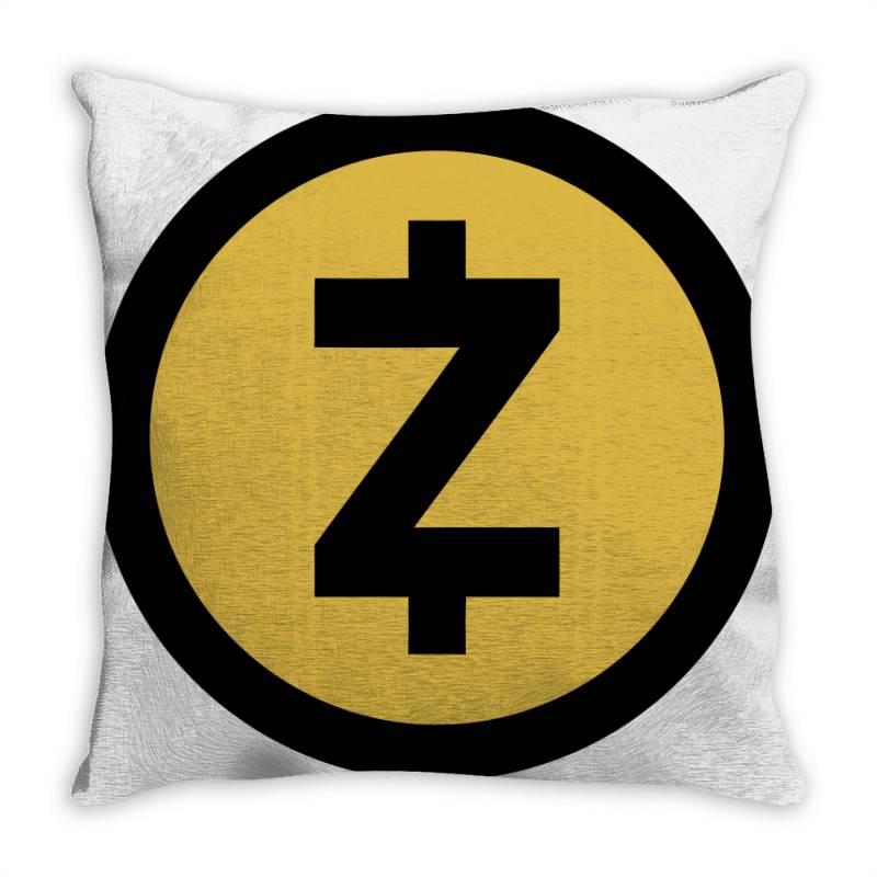 Zcash Throw Pillow | Artistshot