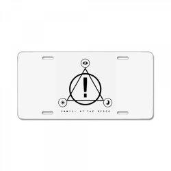 band symbol License Plate | Artistshot