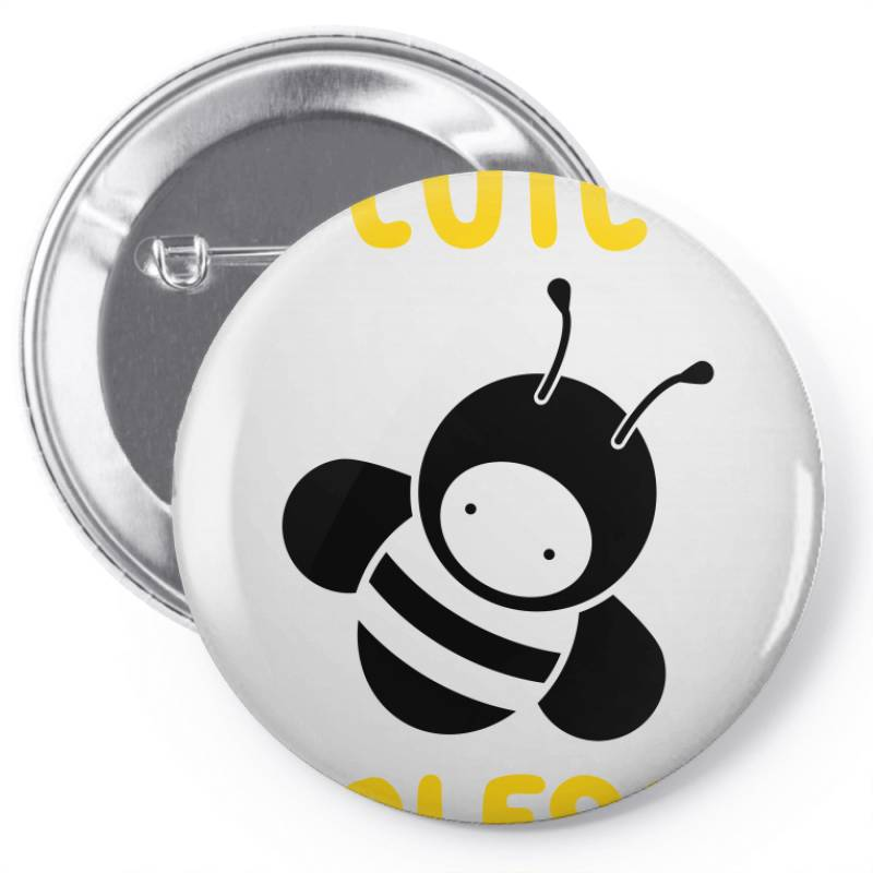 Cute Wholesome Bee Pin-back Button | Artistshot
