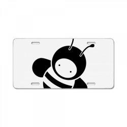 cute wholesome bee License Plate | Artistshot