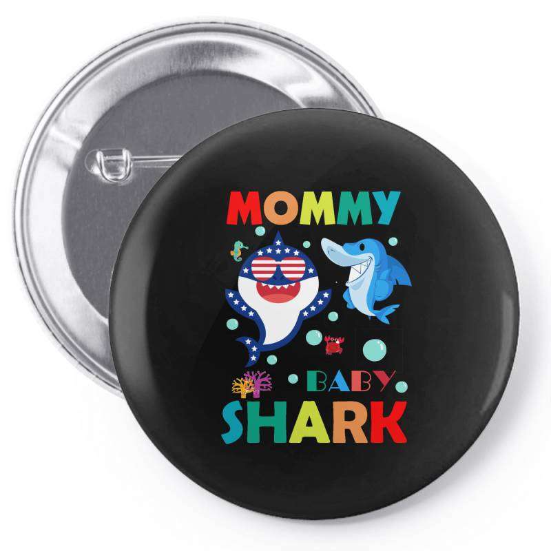 Baby Shark Pin-back Button | Artistshot