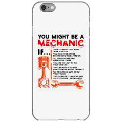 you might be a mechanic iPhone 6/6s Case | Artistshot