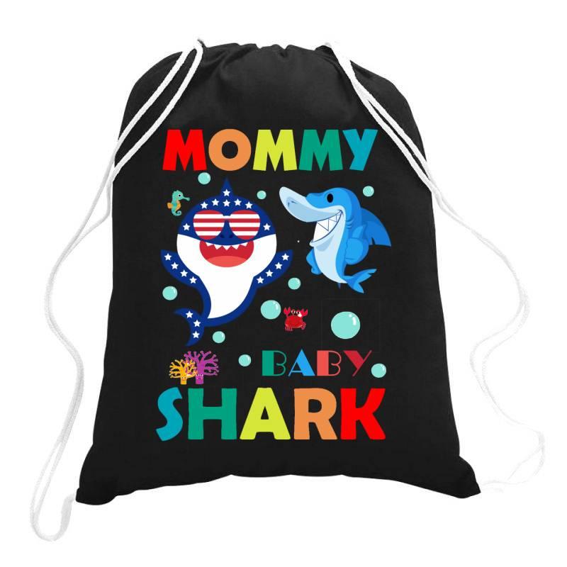 Baby Shark Drawstring Bags | Artistshot