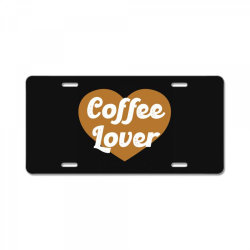 coffee lover License Plate | Artistshot