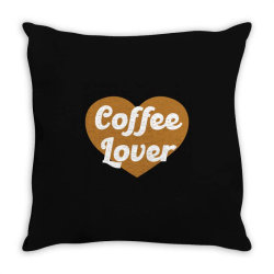coffee lover Throw Pillow | Artistshot