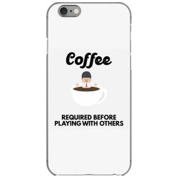 coffee before playing iPhone 6/6s Case | Artistshot
