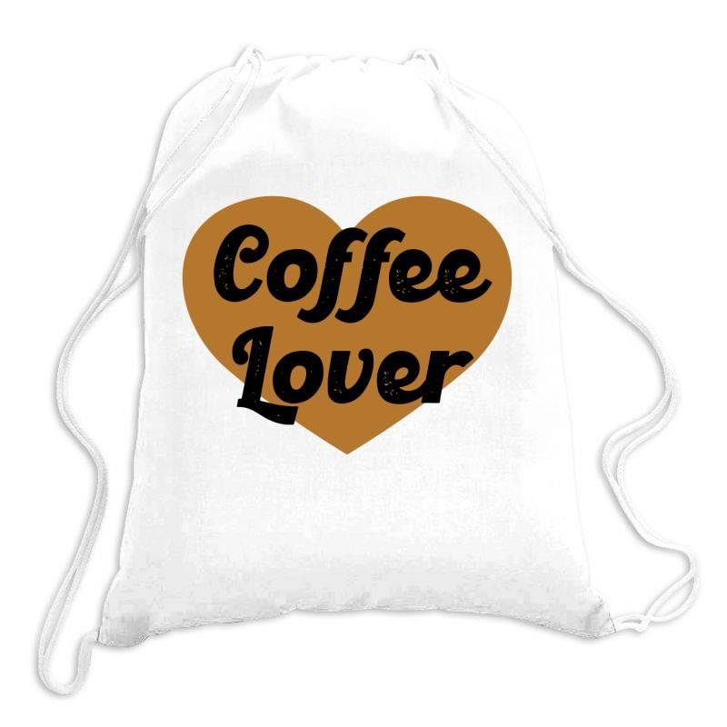 Coffee Lover Drawstring Bags | Artistshot
