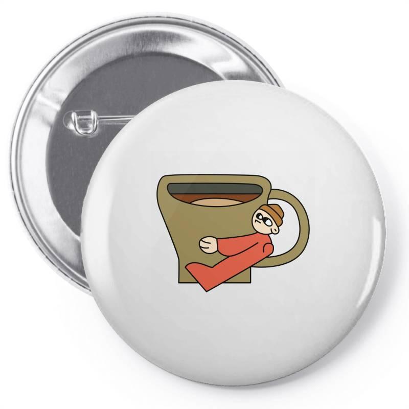 Coffee Lover Pin-back Button   Artistshot