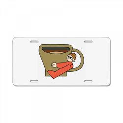 coffee lover License Plate | Artistshot