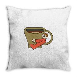 coffee lover Throw Pillow | Artistshot