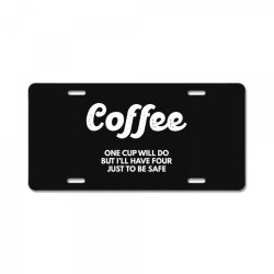 coffee License Plate | Artistshot