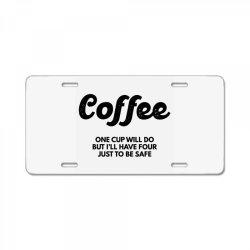 coffee License Plate | Artistshot