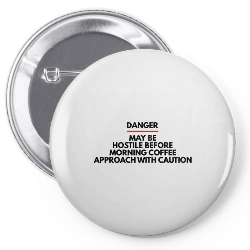 Morning Coffee Pin-back Button   Artistshot