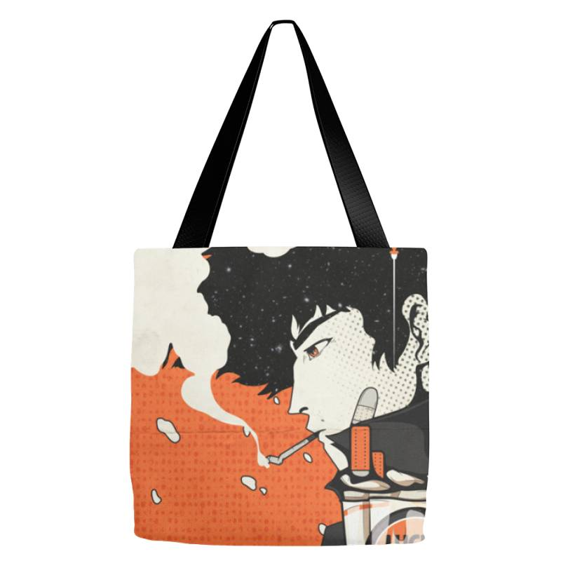 Cow .boy Be .bop Classic T Shirt Tote Bags | Artistshot