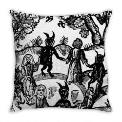 dance with the de.vil  classic t shirt Throw Pillow | Artistshot