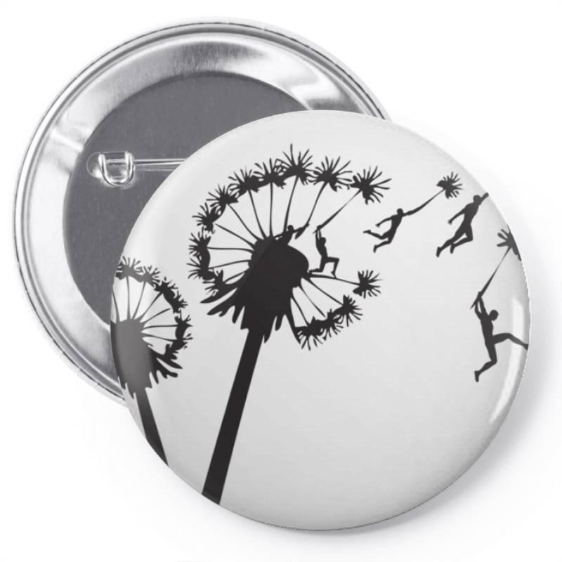 Dandy .lion People Flight Essential T Shirt Pin-back Button | Artistshot