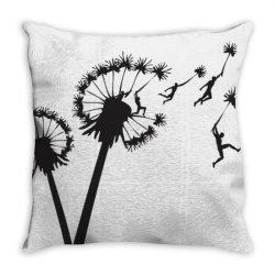 dandy .lion people flight essential t shirt Throw Pillow | Artistshot