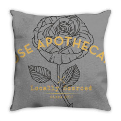 dar  ro .se apothecary classic t shirt Throw Pillow | Artistshot