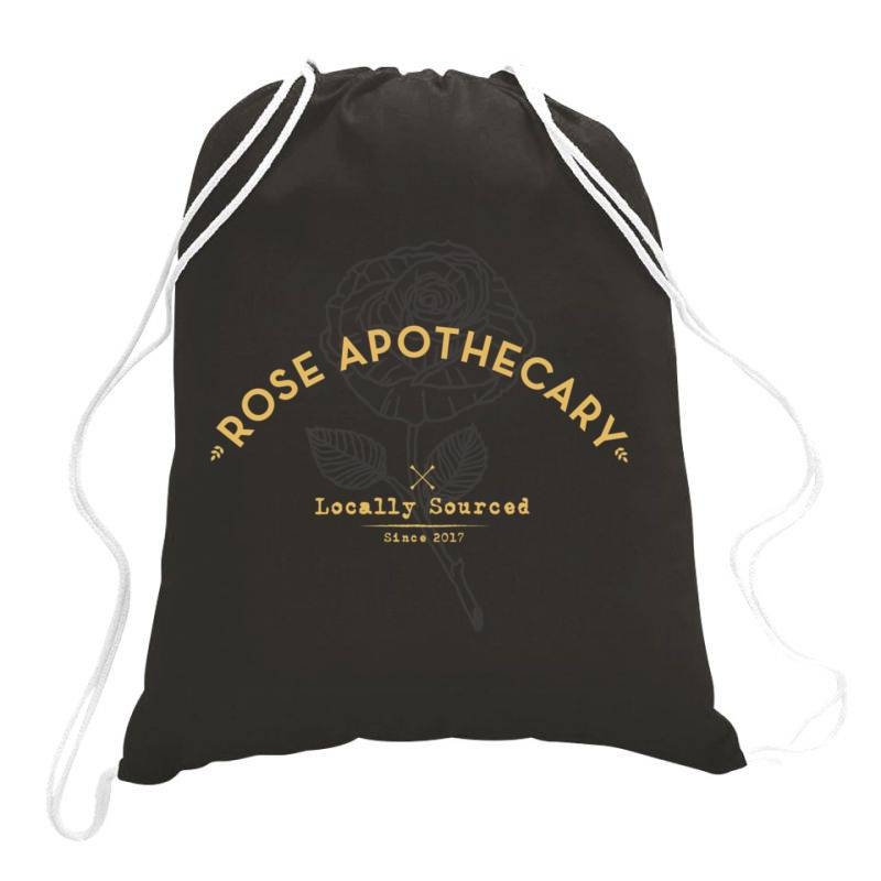 Dar  Ro .se Apothecary Classic T Shirt Drawstring Bags   Artistshot