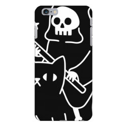 death rid .es a black cat classic t shirt iPhone 6 Plus/6s Plus Case | Artistshot