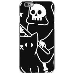 death rid .es a black cat classic t shirt iPhone 6/6s Case | Artistshot
