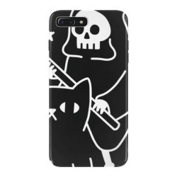 death rid .es a black cat classic t shirt iPhone 7 Plus Case | Artistshot