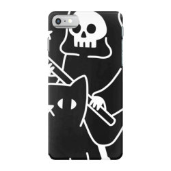 death rid .es a black cat classic t shirt iPhone 7 Case | Artistshot