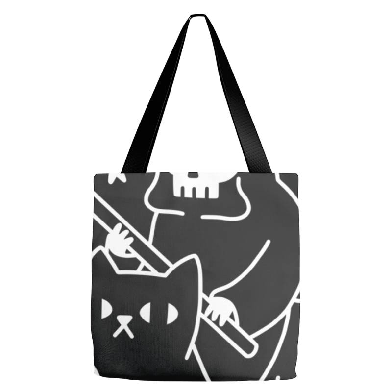 Death Rid .es A Black Cat Classic T Shirt Tote Bags | Artistshot