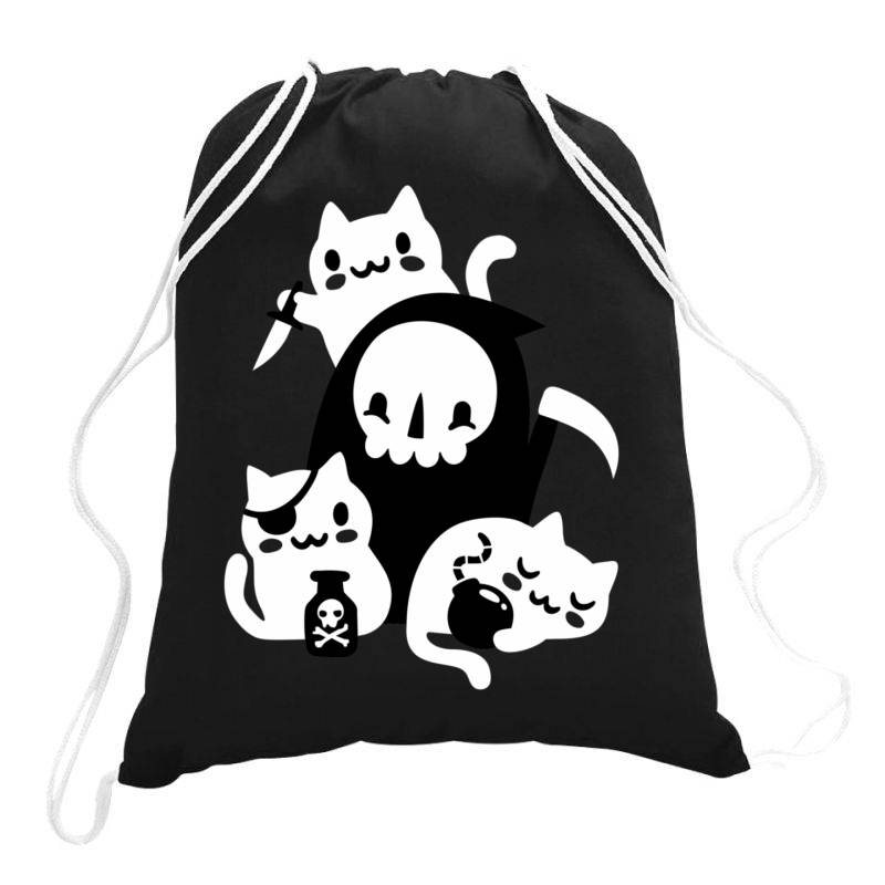 De Aths Little Hel.pers Classic T Shirt Drawstring Bags   Artistshot