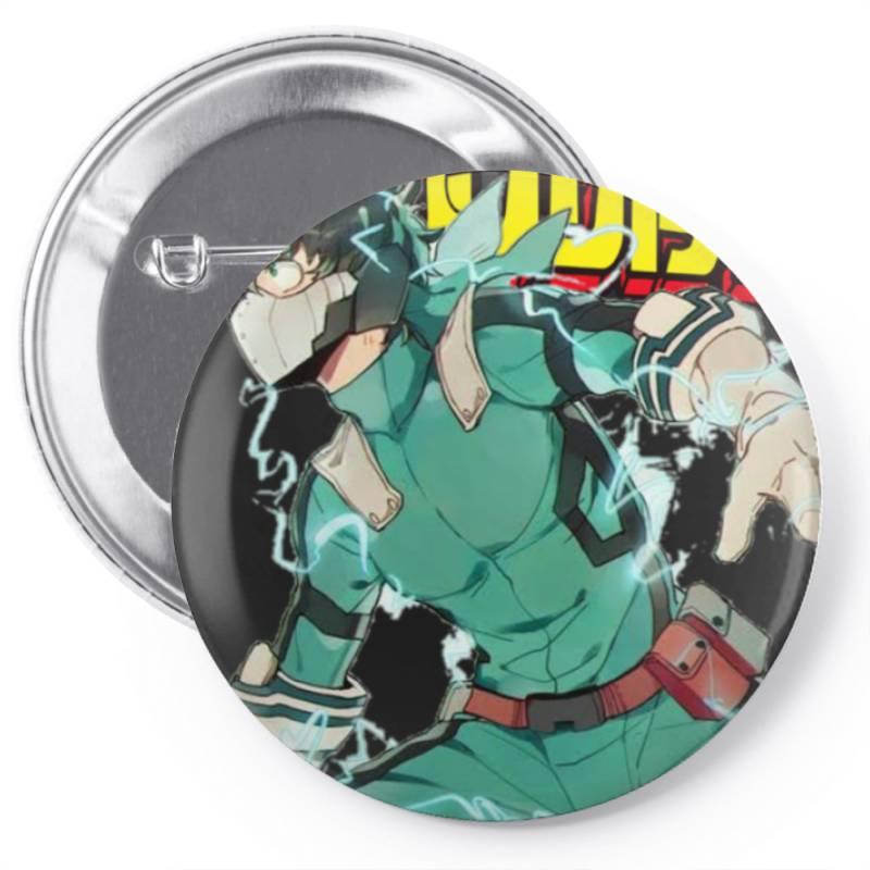 Ku  Full Cowl My  Academia Tri Blend T Shirt Pin-back Button | Artistshot