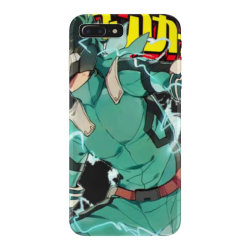 ku  full cowl my  academia tri blend t shirt iPhone 7 Plus Case | Artistshot