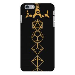 dice set sword tabletop .r.p.g gam  classic t shirt iPhone 6 Plus/6s Plus Case | Artistshot