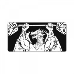 do you even c.rit   ancient swole&x27;d   essential t shirt License Plate | Artistshot