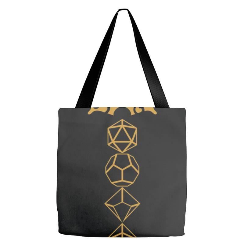 Dice Set Sword Tabletop .r.p.g Gam  Classic T Shirt Tote Bags   Artistshot