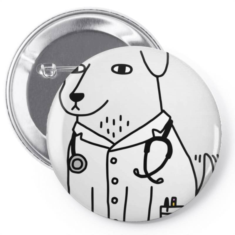 Dog Dogtor Classic T Shirt Pin-back Button | Artistshot